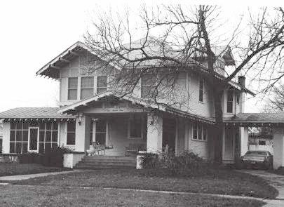 Fain House at 403 N. Preston