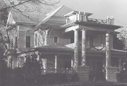 Moore House at 400 W. Denton