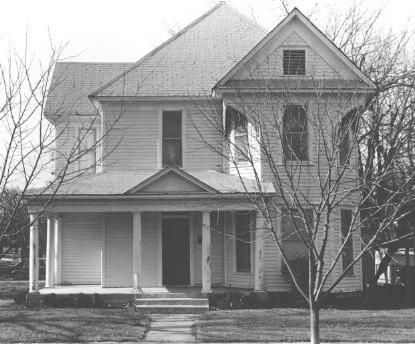 Ransom House/500 W. Ennis