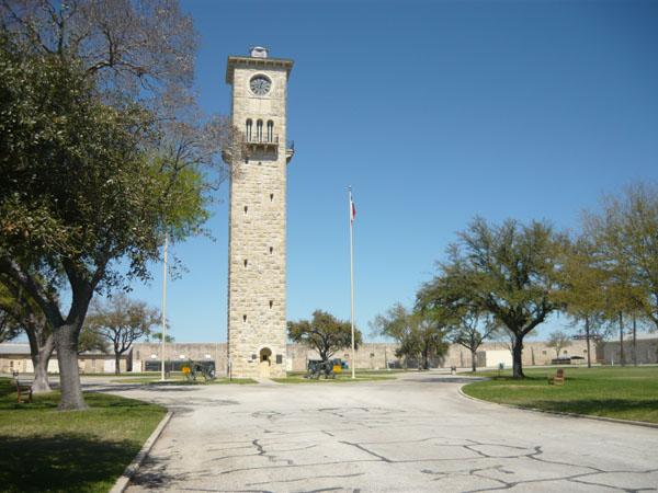 Fort Sam Houston, 4th U.S. Army Headquarters Quadrangle